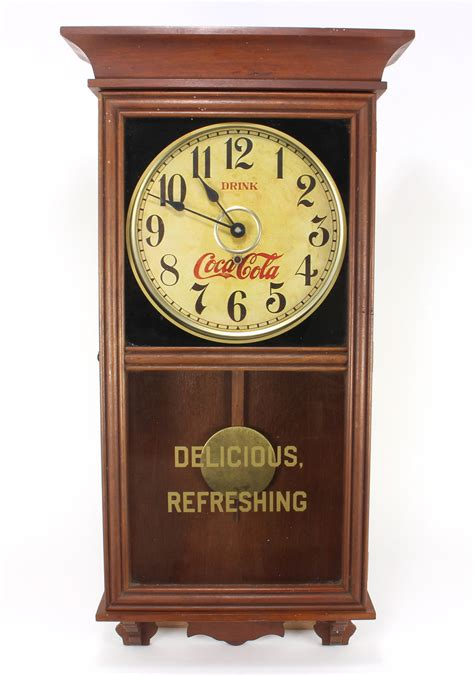 Coca Cola Regulator Clock