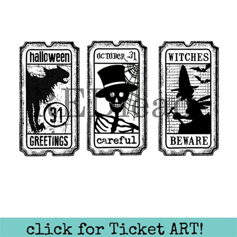 halloween rubber stamps red lead