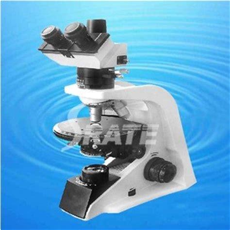 50x 400x Trinocular Polarizing Geological Microscope Used