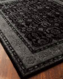 Black And Gray Area Rug Quot Norleon Quot Rug