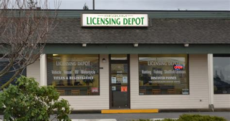 the licensing depot is back sequim daily photo