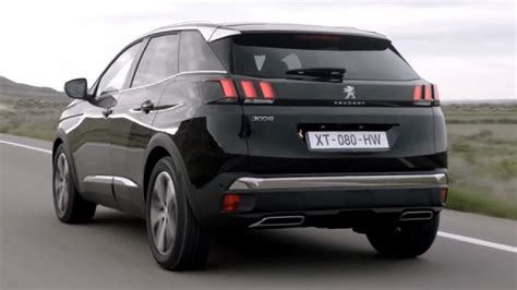 peugeot 3008 2017 black first look 2017 peugeot 3008 gt peugeot pinterest