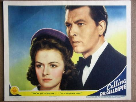 watch tcm calling dr gillespie 1942 gn12 calling dr gillespie donna reed 1942 lobby card