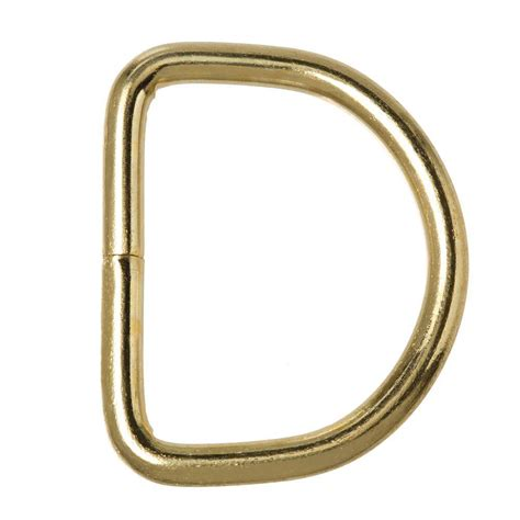 crown bolt 1 5 16 in brass d ring 68158 the home depot