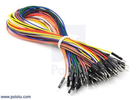 premium jumper wire  piece rainbow assortment
