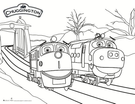 chuggington coloring train pages chuggington snow rescue coloring page mama likes this