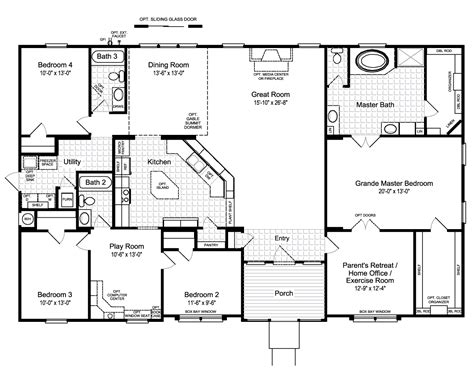 hacienda homes floor plans hacienda floor plans and pictures home interior plans