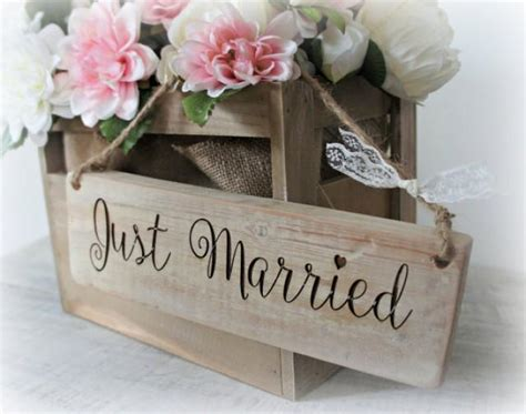 rustic shabby chic reclaimed wood wooden engraved just