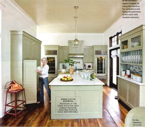 house beautiful ocean inspired kitchen urban grace benjamin moore nantucket gray color stories pinterest