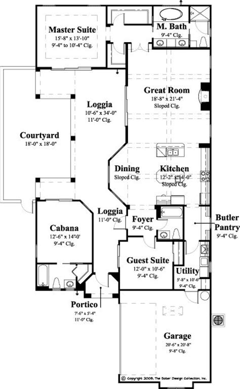 Narrow Lot Luxury House Plans 74 Best Images About Courtyard House Plans The Sater
