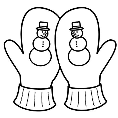 mitten coloring page by margarita mulierchile