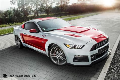 mustang modified 2017 carlex design teases new custom built interior for 2017