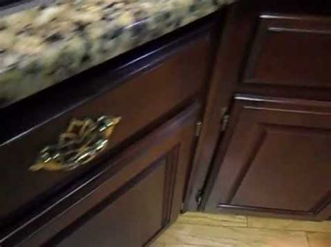 Touch Up Stain On Kitchen Cabinets by Touch Up And Seal Worn Mahogany Cabinets