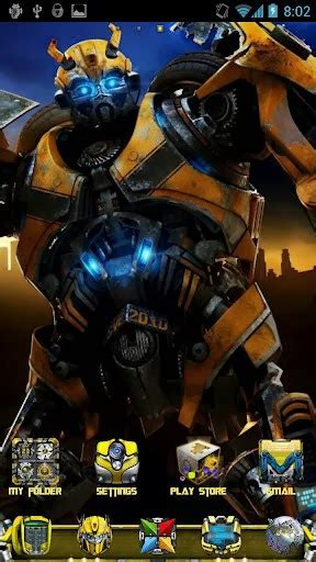 themes transformers android triple quot w quot dot transformers bumblebee theme v1 0 android