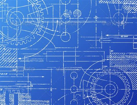 blue print design blueprint architecture blue backgrounds and technology