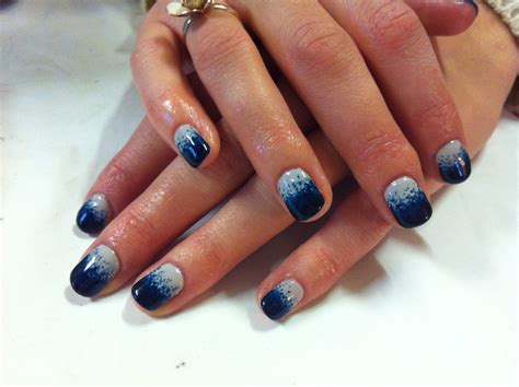 Cnd Nails by Brush Up And Up Cnd Shellac Nail Stippling