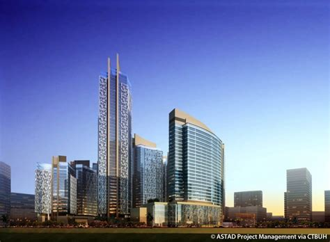 In Qatar Petroleum For Mba by Qatar Petroleum District Tower 1 摩天大楼中心