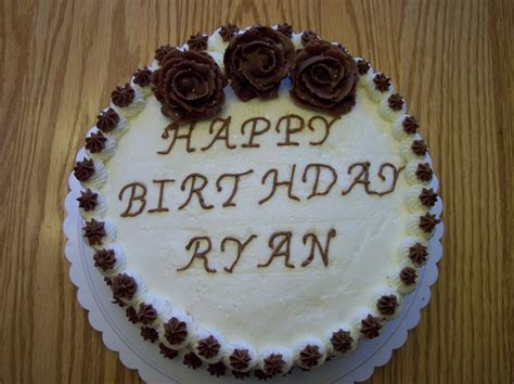 Ryan's Birthday Cake   My Cakes   Pinterest   Birthday