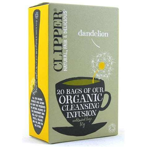 Clipper Detox Tea Review by Organic Dandelion From Clipper Tea Wwsm