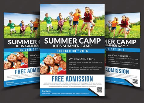 kids summer c flyer templates flyer templates