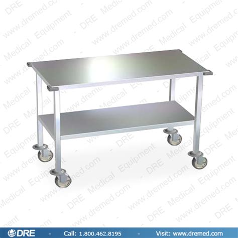 stainless steel work table with wheels dre stainless steel work tables and instrument stands