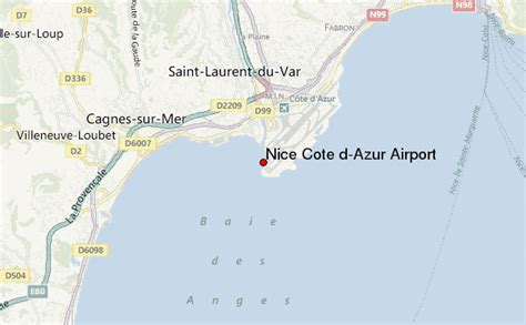 c 244 te d azur international airport location guide