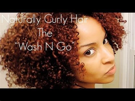 wash leave wavy hair how to achieve a flawless wash n go style on curly hair