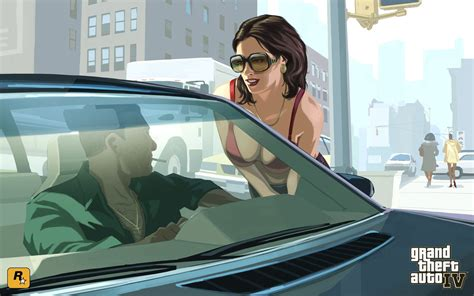 gta iv young lady wallpapers hd wallpapers id