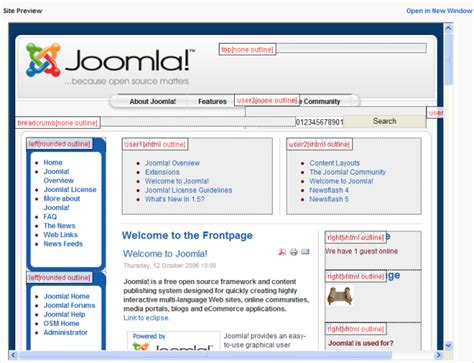 help15 screen templates 15 joomla documentation