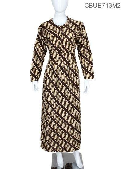 Gamis Obi Motif Unik gamis sogan motif klasik gamis batik murah batikunik