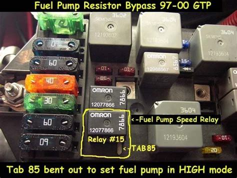 99 grand prix fuel resistor bypass 99 buick regal randomly stalls gm forum buick cadillac chev olds gmc pontiac chat