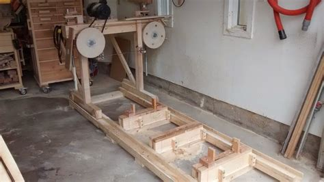 bandsaw mill by geekwoodworker lumberjocks