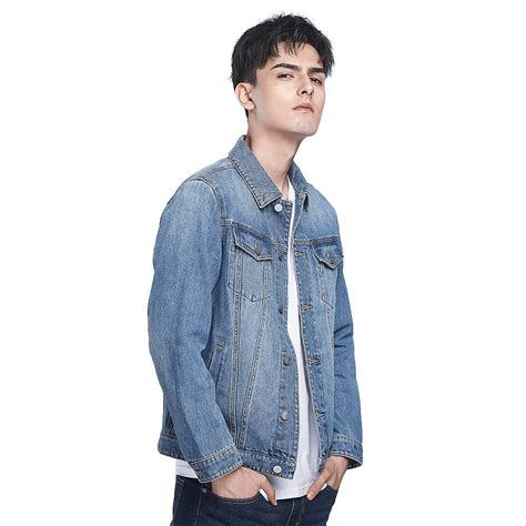 Lapel Denim Jacket xiaomi cottonsmith lapel cotton denim jacket size 2xl