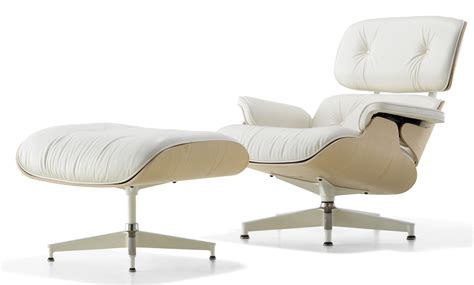 Herman Miller Lounge Chair by Herman Miller Eames 174 Lounge Chair And Ottoman White Ash