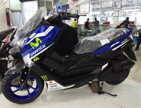 Yamaha R25 Movistar Durable Motor Cover Blue yamaha n max livery movistar yamaha moto gp keren