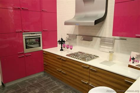 modern pink kitchens pictures cabinets decor designs