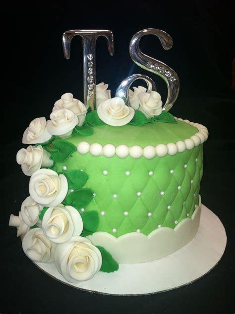 55Th Anniversary Cake   CakeCentral.com