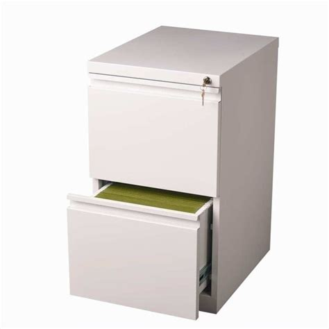 Two Drawer File Cabinet Hirsh Industries 2 Drawer Mobile File White Filing Cabinet Ebay