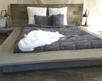 graues holzbett the grey weathered reclaimed wood bed frame