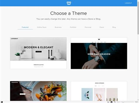 weebly template weebly review rating pcmag