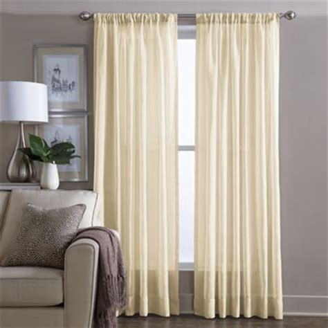 Yellow Sheer Curtains Buy Yellow Panel Curtains From Bed Bath Beyond