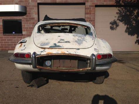 jaguar e type for sale need restoration sell used 1964 jaguar e type 3 8 liter sunroof coupe