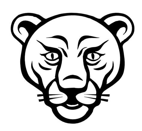 187 lion face black white line art coloring sheet colouring