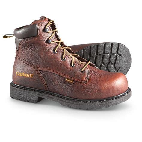 carhartt steel toe work boots s 6 quot 3706 carhartt 174 steel toe work boots 209268