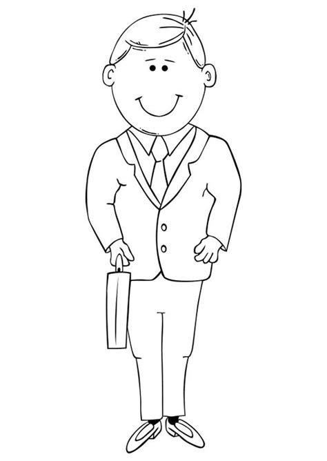 dibujos para nios de hombres para colorear pintar dibujo para colorear padre img 19323
