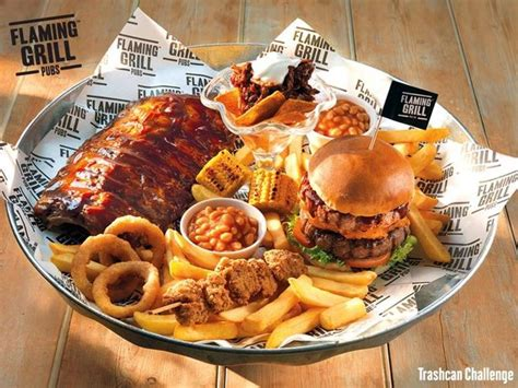 the flaming challenge burger 10 belly busting food challenges to try in and around