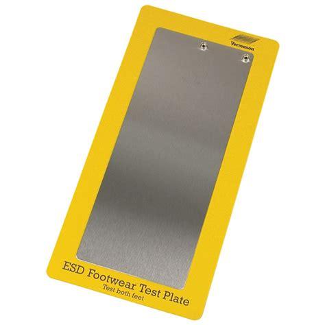 Steel Metal Plate Foot Detox by Vermason 222502 Steel Foot Plate For One Foot