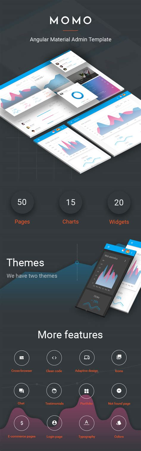 themeforest angular 2 download themeforest momo angular 4 material design