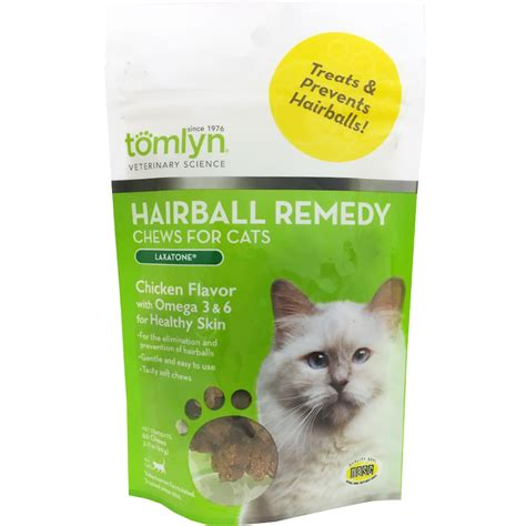 hairball remedy for dogs tomlyn hairball remedy chews 60 chews