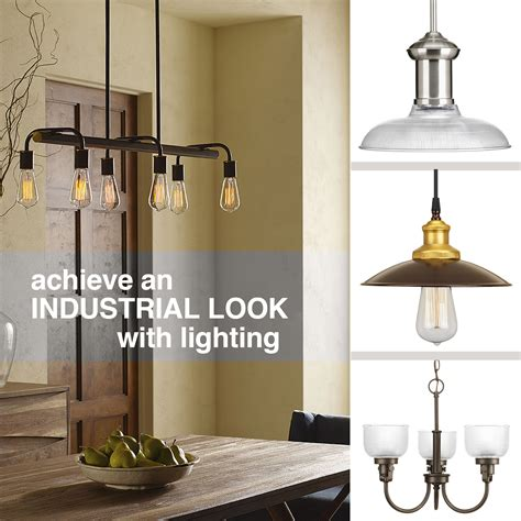 industrial look progress lighting how to achieve an industrial look with